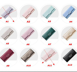 $enCountryForm.capitalKeyWord Canada - Women Wallet 2018 Brand Lovely PU Leather Long Girls Change Clasp Purse Female Money Coin Card Holders Lady Clutch Wallets Carteras 10Color