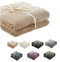 $enCountryForm.capitalKeyWord Australia - CAMMITEVER High Quality 7 Colors Solid Fleece Flannel Throws Blanket For Beds Throw For Baby Adult Fitted Sheet Mattress Cover