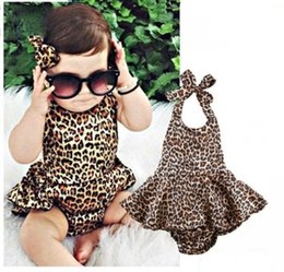 discount 24 month girl christmas outfits newborn kids baby girls leopard bodysuits toddler baby girl