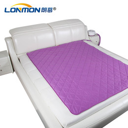 $enCountryForm.capitalKeyWord Canada - Electric bed accessories Home Textiles water heating mattress warm sleep 200*150cm cotton material electric heated bed mats