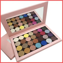 One Palette Australia - Factory Direct DHL Free Newest One Open Eyeshadow Palette Empty Large Pro palette 28 colors single shadows shimmer matte and satin shadows