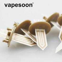 Ceramic Core Coil Australia - Ceramic Repalcement IQOS Wick Heating Pen Core Coil Slice Fit for e-Cigarette IOQS IQOS 2.4 Plus Kit Heater Stick