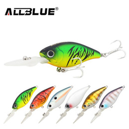 China Suspending Deep Diving Crankbait Fishing Lures 8.2g 50mm Lifelike Wobblers With 8# Owner Hooks peche isca artificial suppliers