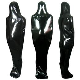 $enCountryForm.capitalKeyWord NZ - Latex Catsuit Zentai Latex Sleeping Bag Latex Bodybag Rubber Sack Fullbody Front Zipper Entry