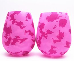 $enCountryForm.capitalKeyWord UK - New 12 Designs Silicone Wine Glasses Camouflage Lip Bohemia National Skull Bubble Water Bottle Outdoor Cups Beer Whiskey Glass Drinkware