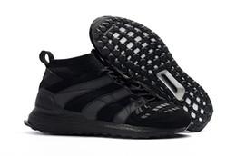 08573566a New David Beckham DB Football Boot Predator Accelerator Ultra Boost UB Mens  Running Shoes Soccer LTD Triple Black Man Ultraboost Sneakers
