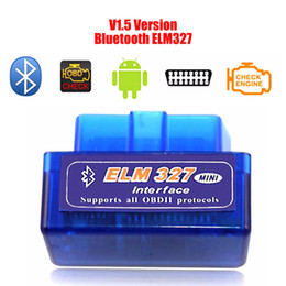 Chinese  Hot selling diagnostic scanner for car automotivo escaner automotriz Mini V2.1 ELM327 OBD2 ELM 327 Bluetooth Interface Auto Car Scanner manufacturers