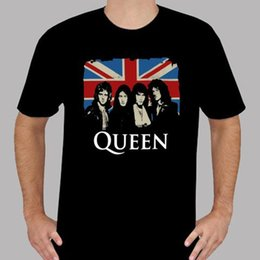 $enCountryForm.capitalKeyWord Australia - New Queen Rock Band Legend Personels UK Flag Men's Black T-Shirt Size S To 3XL Pop Cotton Man Tee Casual Fitness Men T Shirts