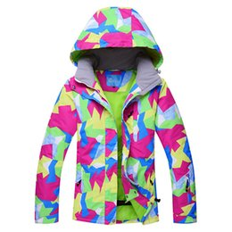 c246767a6a Jacket For Snowboarding UK - RIVIYELE Brand Women Ski Jacket Winter  Waterproof Windproof Snow Coats for