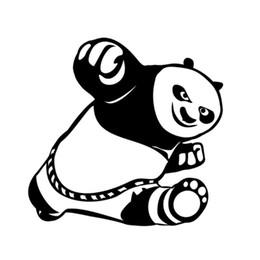 $enCountryForm.capitalKeyWord Australia - HotMeiNi Wholesale 20pcs lot Cute Kung Fu Panda Cool Vinyl Sticker Decal For Car Wall Bumper Wall Helmet Skateboard Laptop Locker Glass