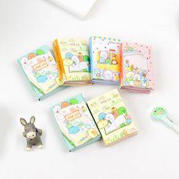 Cute Sumikko Gurashi 6 Fold Self-adhesive Memo Pad Sticky Notes Bookmark School Office Supply Office & School Supplies