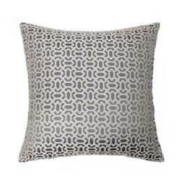 $enCountryForm.capitalKeyWord Canada - Modern Grey Interior Home Decorative Pillow Case Square 45x45cm Jacquard Woven Floor Sofa Chair Home Living Room Geometeric Cushion Cover