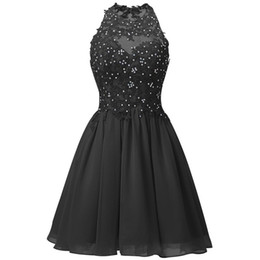 $enCountryForm.capitalKeyWord UK - Black Exquisite Beautiful Short Lavender Homecoming Dresses Mini Beaded Lace Open Back Homecoming Gowns Graduation Dresses