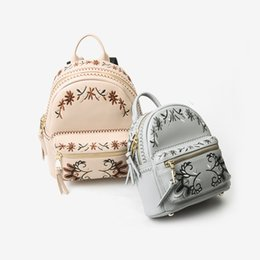 $enCountryForm.capitalKeyWord UK - New embroidered ladies leather backpack mini backpack leather handbag wallet handbag Messenger bag fashion classic