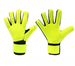 Nouvelle couleur SGT Adulte Gants de gardien de but de football sans Fingersave Soccer Football professionnel Ball Gants