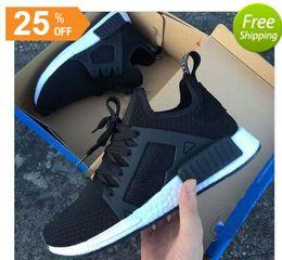 $enCountryForm.capitalKeyWord NZ - New 2018 NMD XR1 Running Shoes Mastermind Japan Skull Fall Olive green Camo Glitch Black Blue zebra Pack men women sports shoes