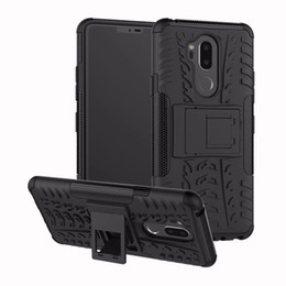 $enCountryForm.capitalKeyWord UK - New ARRIVAL Hybrid Kickstand Rugged Rubber Armor Hard PC+TPU 2 In 1 Back Case Stand For LG K8 2018   G7