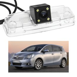 toyota backup cameras Australia - New 4 LED Car Rear View Camera Reverse Backup CCD fit for Toyota Verso 2010-2012 2011