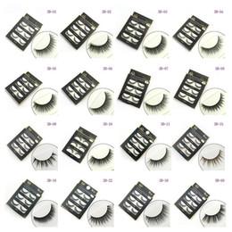 $enCountryForm.capitalKeyWord NZ - 60sets DHL 3D False eyelashes 16 Styles Handmade Beauty Thick Long Soft lashes Fake Eye Lashes Eyelash Sexy