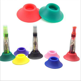 $enCountryForm.capitalKeyWord Australia - Ego Suckers e cigarette silicone sucker rubber base holder silicon display stands rubber caps pen stand for battery ego t evod ecigs vape
