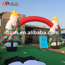 christmas inflatable tree arch party decoration arch - Huge Inflatable Christmas Decorations