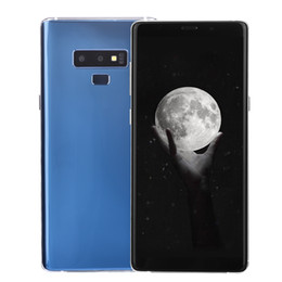 Face ID Goophone N9 V2 Huella digital 3G WCDMA Quad Core MTK6580 1GB 16GB 6.3 pulgadas IPS 1440 * 720 HD Pantalla completa Mostrar 4G LTE Octa Core Smartphone