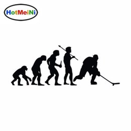 black sports car sticker Canada - Car Styling Sports Fashion Hockey Evolution Vinyl Car Stickers Sticker 15CM*5.4CM