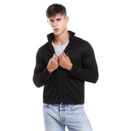 China SHUJIN Autumn Men High Quality Coat Men Fashion Short Jacket Male Solid Basic Windproof Thermal For Autumn Clothes 2018 New supplier basic clothes for men suppliers