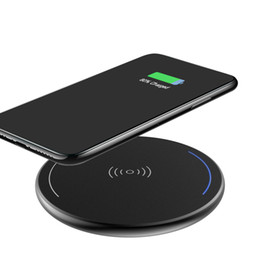 wireless qi charging power bank NZ - 2018 Qi Wireless cell mobile phone power bank desktop usb charger for mobile phonemobile phone with a wireless charge