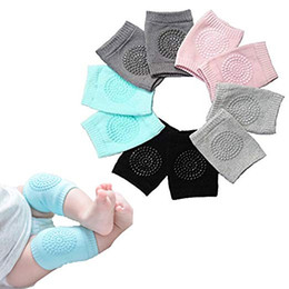 Discount toddler crawling knee pads - Baby Crawling Anti-Slip Knee, Unisex Baby Toddlers Kneepads 5 Pairs