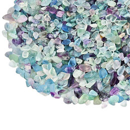 $enCountryForm.capitalKeyWord NZ - 100g Fluorite Quartz Gravel Color crystal Decorate Aquarium Fish Tank Stone Tumbled Crushed Irregular Shaped Chips adorn Healing Rough