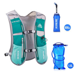 $enCountryForm.capitalKeyWord Canada - Wholesale-AONIJIE Brand Men Women Backpack Hydration Vest Pack Camelback Marathon Running Hiking Back Pack Outdoor Sports bag