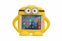 "Tablet Stand For Kids Australia - Childrens 3D Kids Cute Cartoon Shockproof EVA Foam Stand Cover Tablet Case For ipad Mini 2 3 4 7.9""inch"