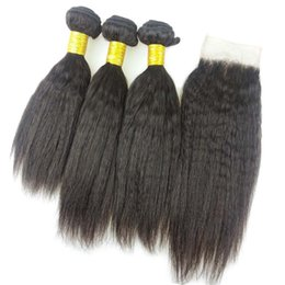 $enCountryForm.capitalKeyWord Australia - The Cheapest raw unprocessed virgin indian hair weave 3pcs lot kinky straight human hair extensions bundles