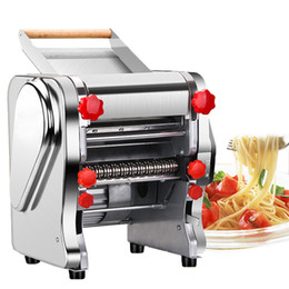 pasta cutters UK - Beijamei Stainless Steel Pasta Making Machine Automatic Noodle Maker Electric Commercial Spaghetti Pasta Cutter Machine Price