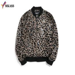 Hot Leopard Printing Jacket Mens Luxury Baroque Bomber Jackets Mens Slim  Fit Clothing Club Outfits Men Short Jacket M-5XL aa401a19b