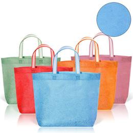$enCountryForm.capitalKeyWord Australia - Hot sale non-woven fashion solid color packaging bags gift hand bag environmental protection supermarket shopping bag T3D0150