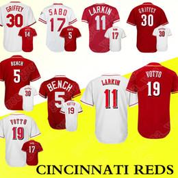 760390b0c ... germany cincinnati baseball jerseys 11 barry larkin 17 chris sabo 19  joey votto 100 stitched 5