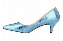 $enCountryForm.capitalKeyWord UK - Hot Sale Women Shoes crocodile pattern High heels pointed toe Pu leather non slip Sexy Female Shoes wear-resisting Wedding Shoes