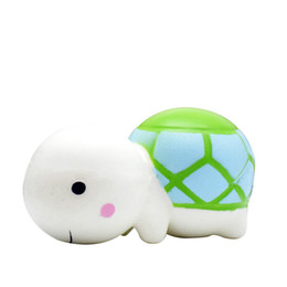 Discount large kawaii squishy - Kawaii Squishy Tortoise New Squishies Animal Large Cute Turtle Slow Rising Toys Scented Simulation DHL Free Shipping SQU