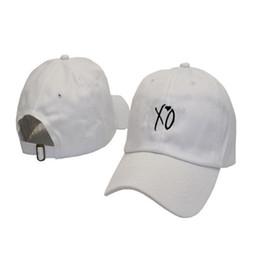 746a4c6fb2d Creative Women Men XO Letter Hats Love Pattern Hip Hop Baseball Cap Cotton  Black White Color Originality Snapback Hot Styl 16yz ff