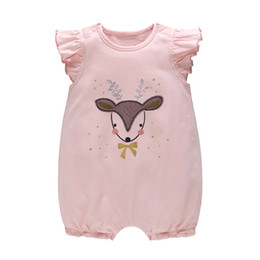 ea6ad590141 Baby Clothes Sale Wholesale NZ - Hot Sale INS Styles Summer Baby Kids  Clothing Rompers Deer