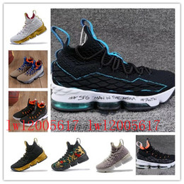 half off e1d8f 4cf35 2018 Ashes Ghost Floral equality Lebrons 15 Basketball Shoes men Lebron  shoes Sneaker 15s Mens sports Shoes James 15 us 7-12