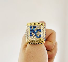 d634b87e7 New Arrival Champions ring Boston 2014-2015 Kansas City Royals World  Champion Fan Ring Fan Gift high quality wholesale Drop Shipping