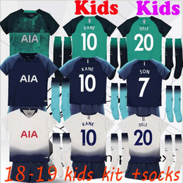 168e42b1db9 Soccer Jerseys For Kids Australia - 18 19 KANE spurs kids Soccer Jersey Home  away third