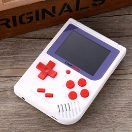handheld mini games 2018 - CoolBaby RS-6 Portable Retro Mini Handheld Game Console 8 bit Color LCD Game Player For FC Game Players DHL discount han
