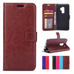 $enCountryForm.capitalKeyWord NZ - For iPhone X 8 7 Plus Galaxy S9 Wallet Case Vintage Leather Flip Credit Card Holder Folio Cover Money Pocket for Samsung Note8