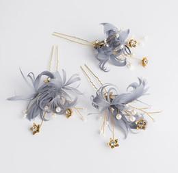 Feather Wedding Accessories Australia - Bridal headwear new feather headwear wedding hairdressing wedding dress accessories