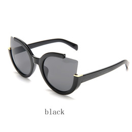 glasses without lens 2019 - Luxury Sunglasses For women Brand Design Sunglasses Wrap Sun glass Pilot Frame Coating Mirror Lens 4 colors chose withou
