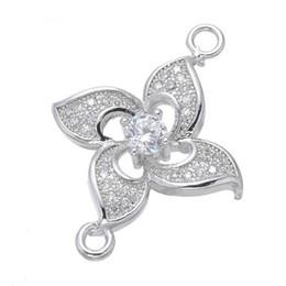 Copper loop earrings online shopping - Crystal Rhinestones Circle Karma Infinity Connectors DIY Bracelet Earrings Findings Loop Round Connectors Jewelry Making